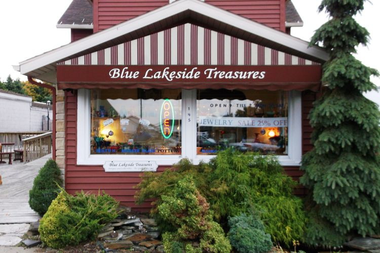 Blue Lakeside Treasures