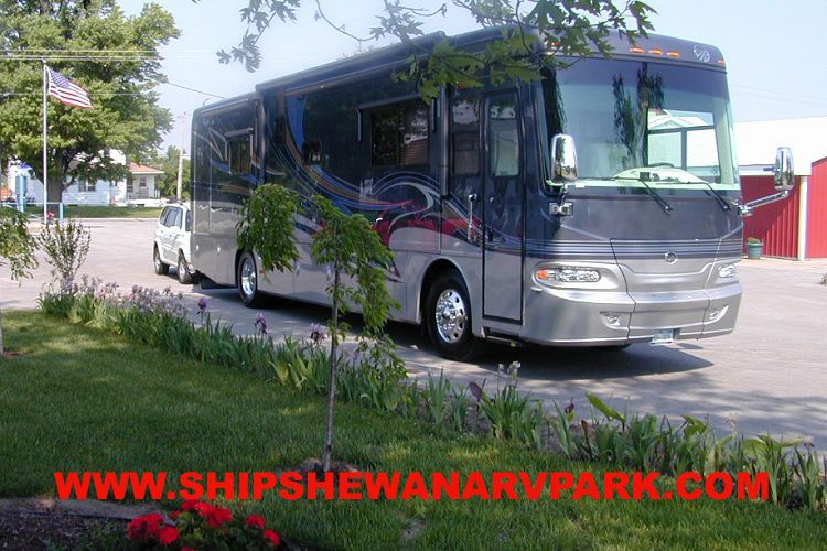 Shipshewana Campground South Park Location - Shipshewana